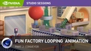 Creating a Fun Factory Looping Animation w/ Perry Cooper Part 2 Conveyor Belt
