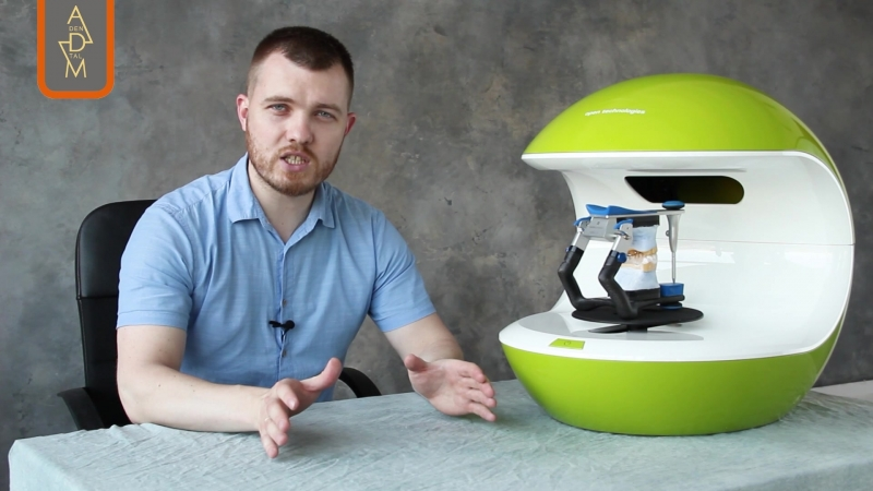 Видеообзор 3D сканера NeWay от Open Technologies
