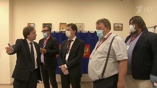 Международные эксперты приехали посмотреть и поучиться организации голосования в период пандемии.