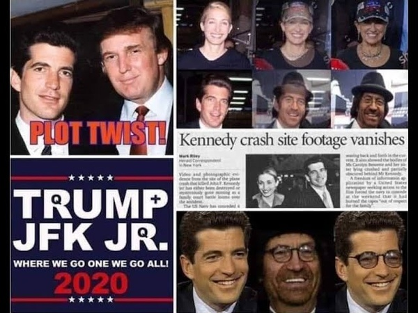 QANON infiltration instead of invasion JFK Jr QANON WWG1WGA MASSARRESTS