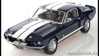 Презентация коллекции Ford Mustang Shelby GT 500 - Соберите модель в масштабе 1/8 (DeAgostini)