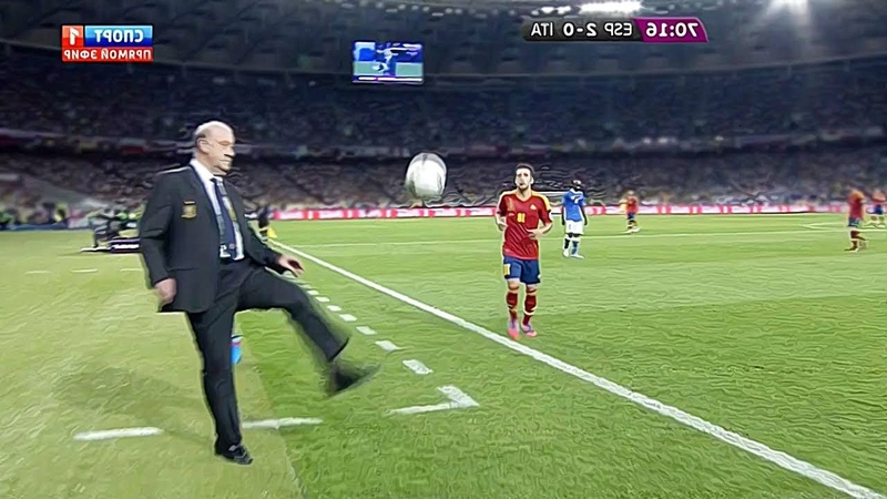 Crazy Managers Skills Goals in Football Match
