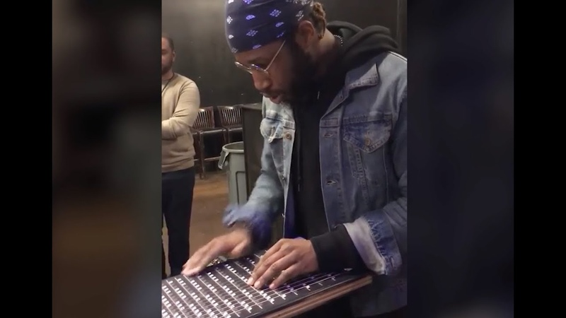 Cory Henry covers Stevie Wonder's Love's in Need of Love Today on the Harpejji