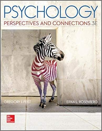 Psychology Perspectives and Connections, 3rd Edition