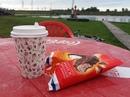Для влюбленных в кофе☕ весь сентябрь вкусное предложение: Кофе + мороженое = 150 ₽.  ☎40-52-52 🌍Парк