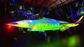 Новейший российский истребитель представлен на авиасалоне МАКС, старт которому дал президент.