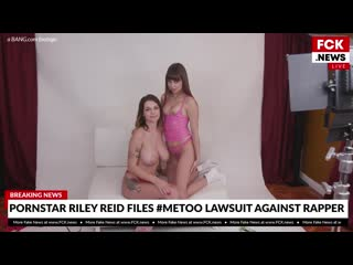 Riley Reid, Gabbie Carter - [2020, Big Natural Tits, Lesbian, Masturbation, Kissing, Natural Tits, ЛЕСБИЯНКИ ПОРНО СЕКС 18+]