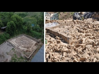 A Mysterious 25,000 Year  Old Structure Built of the Bones of 60 Mammoths