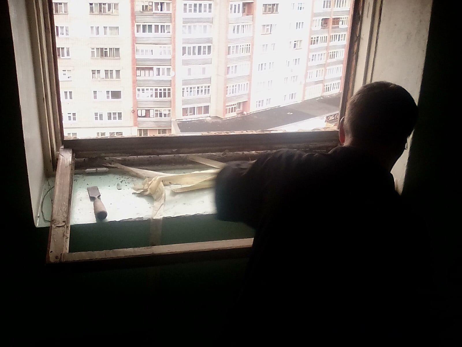 Улица Кольцова дом 22 остекление МОП