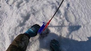 Ловля Щуки на Жерлицы!!!! рыбалка на жерлицы,на щуку в ➖20.Мороз и солнце,клев щуки хороший.