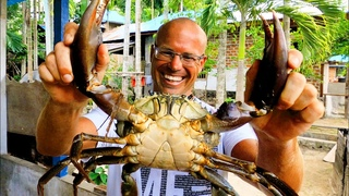INDO TALES - EPISODE 11 Amazing river and mudcrab catch and cook