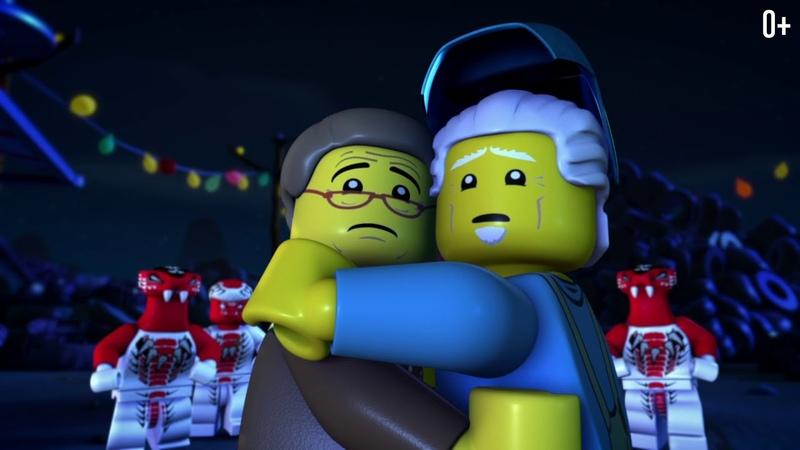 LEGO Ninjago Мастера Кружитцу Полные с 1 сезон на русском