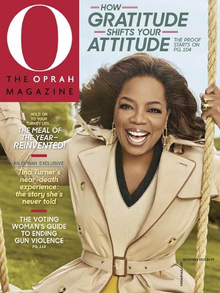 O,The Oprah Magazine 2018 11