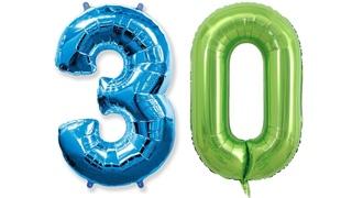 Фольгированные шары-цифры с Aliexpress | Товары с Алиэкспресс | Воздушные цифры