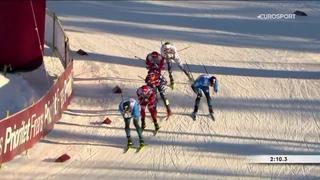 Ретивых выскочил на финиш лидером, но проиграл шведу в спринте