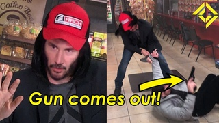 Keanu Reeves Stops A ROBBERY!
