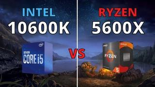 I5 10600K VS RYZEN 5 5600X | TEST IN 10 GAMES