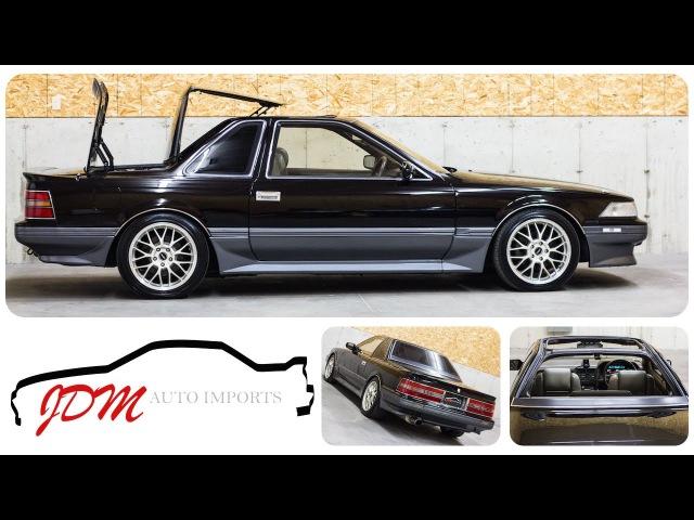 1989 Toyota Soarer Aerocabin Walk Around - JDM Auto Imports LLC
