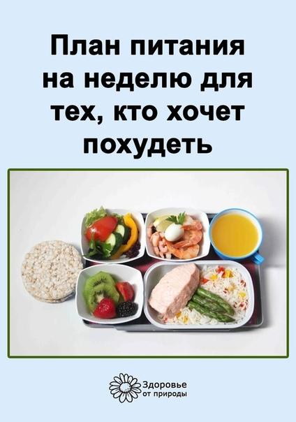 Режим питания для тех кто хочет похудеть