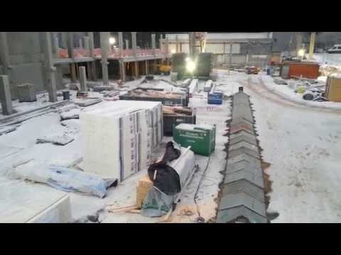 Как отогревают землю если нужно проложить коммуникации в мёрзлом грунте Стройка в Финляндии
