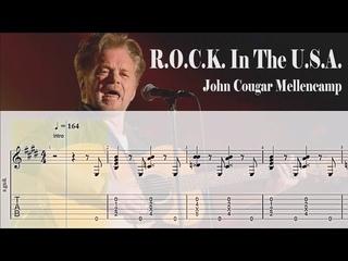 .  In The . (A Salute to 60's Rock) - John Cougar Mellencamp   Guitar Tab