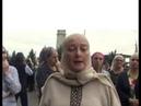 Ингушетия 05.10.2018 Женщина на митинге жестко высказалась в адрес Кадырова