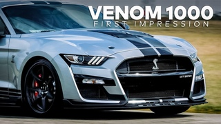 VENOM 1000 First Impression! // GT500 Mustang Upgrade by Hennessey