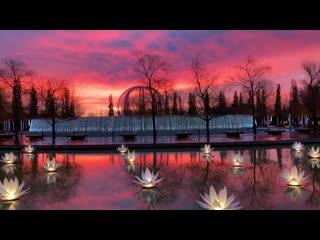 Рассвет в парке «Краснодар»