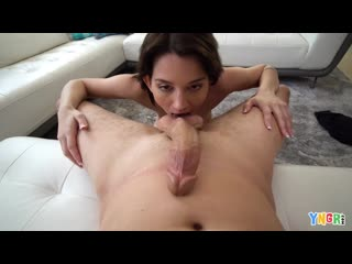 [Bang YNGR] Riley Jean - Flashes And Sucks Dick In Public