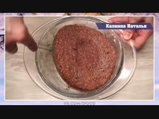 Безумно вкусный торт за 5 минут.  Праздничный рецепт. Попробуйте обязательно!