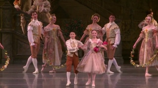 A young Nathan Chen performs with Ballet West
