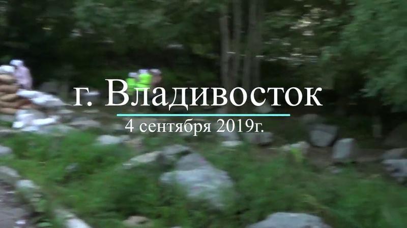 Жители Владивостока строят доты для защиты от беспредельщиков захвативших власть в городе.