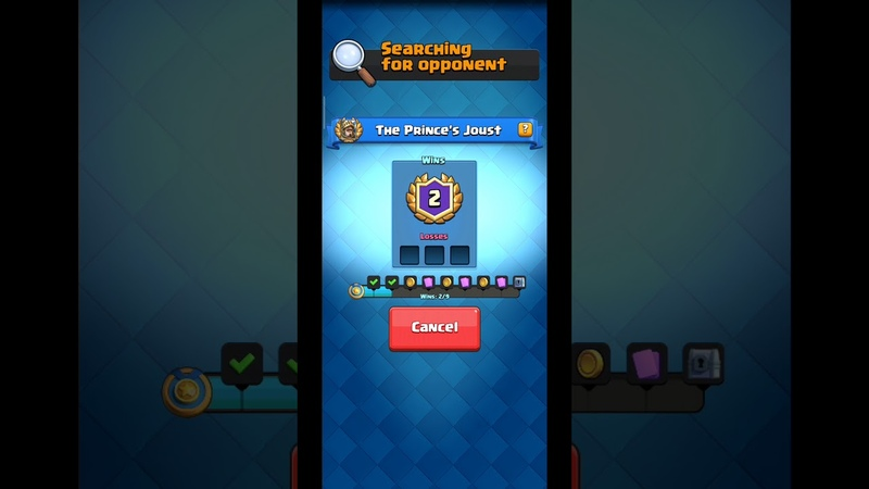 The Prince's Joust ❤ Special Challenge of Clash Royale Part 1 13