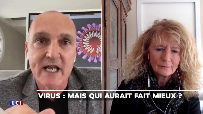 Règlement de comptes sur LCI entre l'alarmiste Jérôme Marty et la députée Martine Wonner