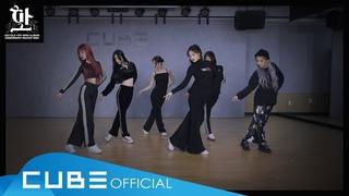 (여자)아이들((G)I-DLE) - '화(火花)(HWAA)' (Choreography Practice Video)