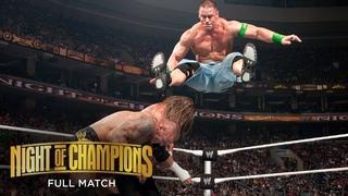 FULL MATCH: Randy Orton vs. John Cena vs. Triple H – WWE Title Match: WWE Night of Champions 2009