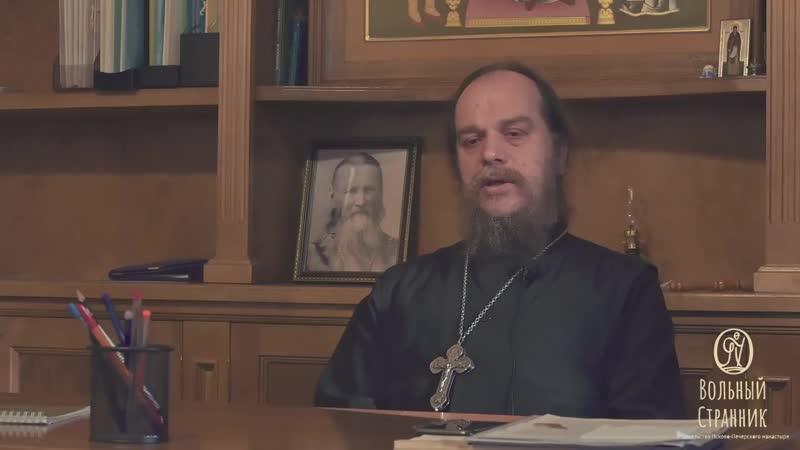 Иеромонах Василий Бурков о пути к принятию монашества духовных наставниках