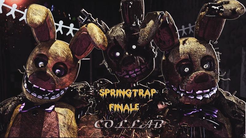 [FNAF\SFMC4D\BLENDERCOLLAB]Springtrap Finale by Groundbreaking