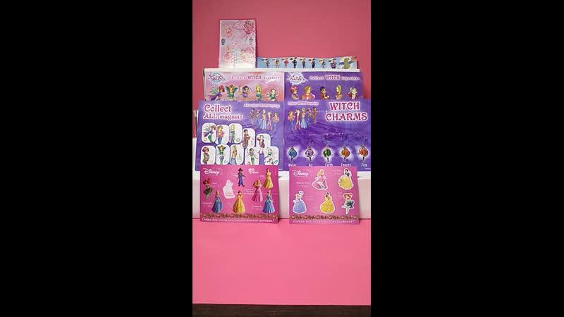 ✨Обзор коллекции фигурок W I T C H Друзья Ангелов Принцессы Дисней и Барби Фейритопия✨