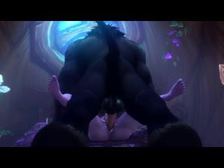 Night_Elf Tauren Tyrande_Whisperwind  World_of_Warcraft noname55