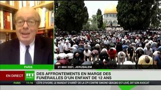 Gérard Vespierre revient sur les heurts en Cisjordanie après les funérailles d'un Palestinien