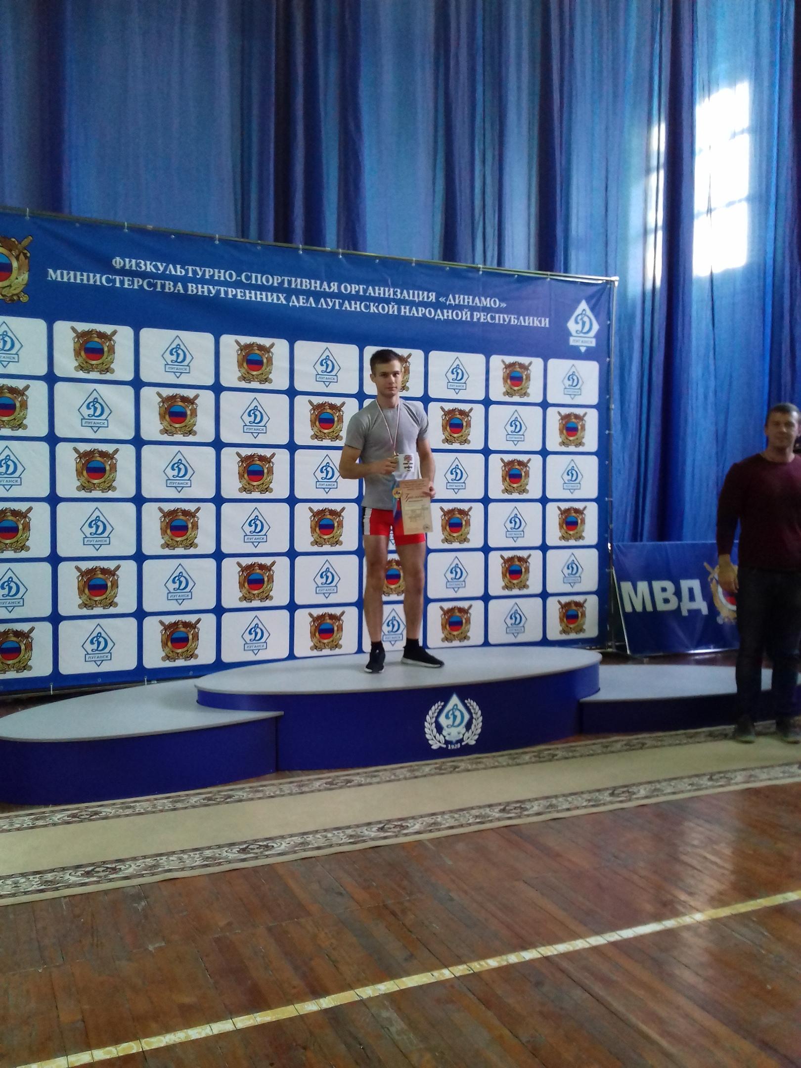 Антрацитовский факультет поздравляет Хорхордина Ростислава с победой!!!