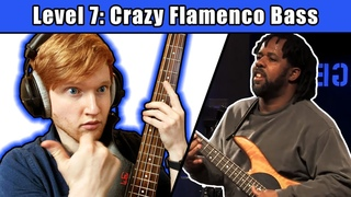 I Played Victor Wooten's HARDEST Bass Solo (20 Levels Of Difficulty)