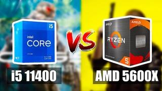 i5 11400 vs Ryzen 5600X - Большое Сравнение