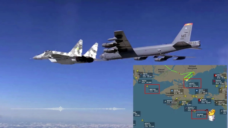 Даже не думай стратегические бомберы B 52 послали Путину намёк с подтекстом