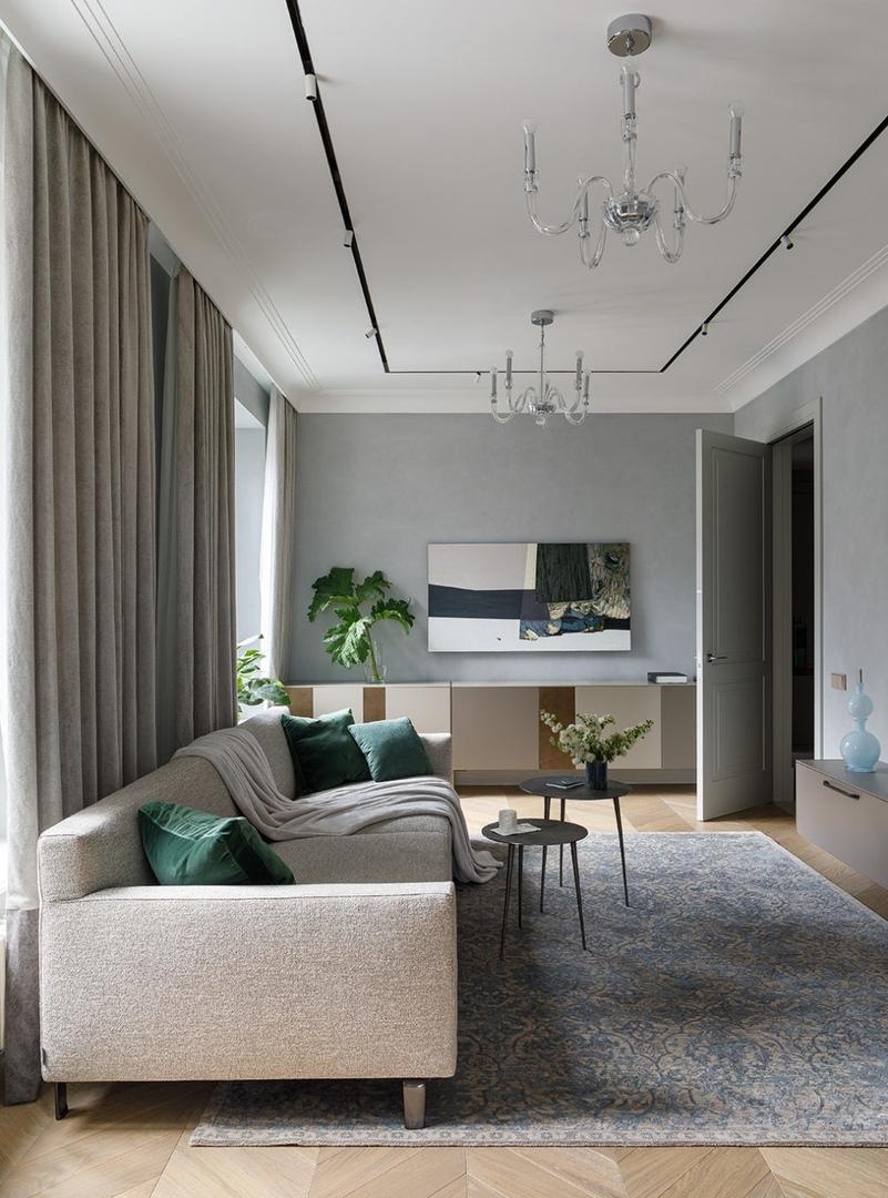 Квартира с видом на Новую Голландию, 137 м² от Павла Кулакова