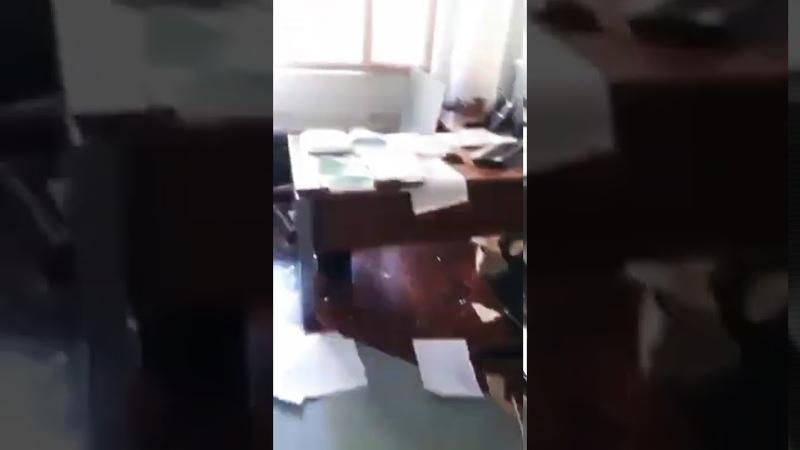Ливан в Бейруте после взрыва офис не разрушился по воле Аллаhа