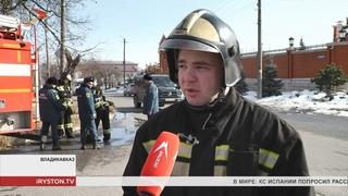 Курсанты Ивановской пожарно спасательной академии проходят практику в МЧС