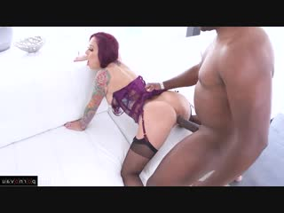 Monique Alexander & Mandingo [ Negros &  In stockings / Tattoo, Striptease, Beautiful lingerie, Cumshot in mouth, Curly]