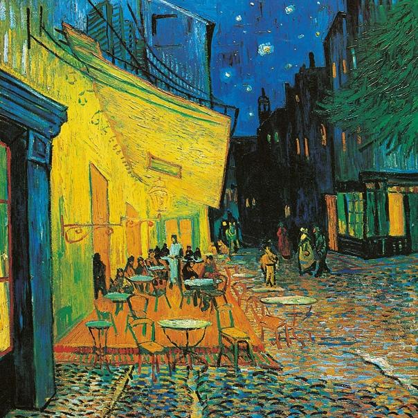 «Терраса кафе ночью», Винсент Ван Гог